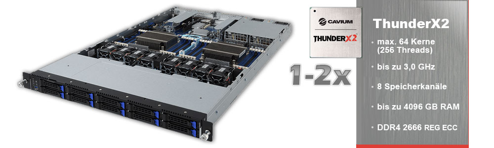 Cavium Arm ThunderX2
