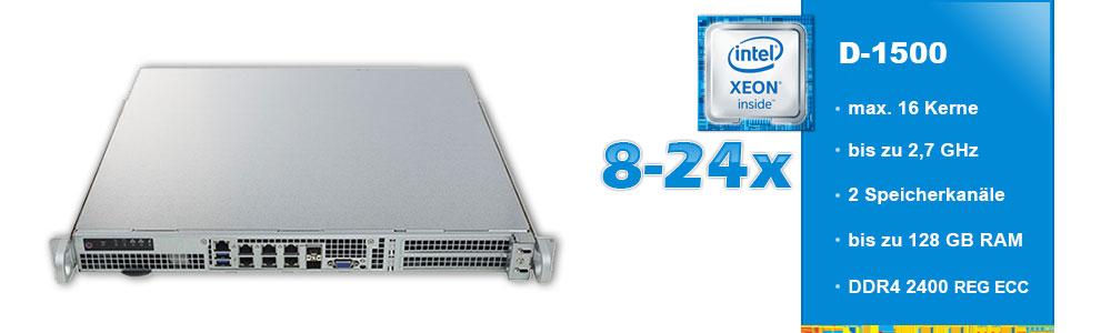 Intel Xeon D (1-Sockel)