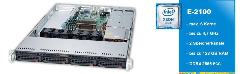 Intel Xeon E-2100 (1-Sockel)