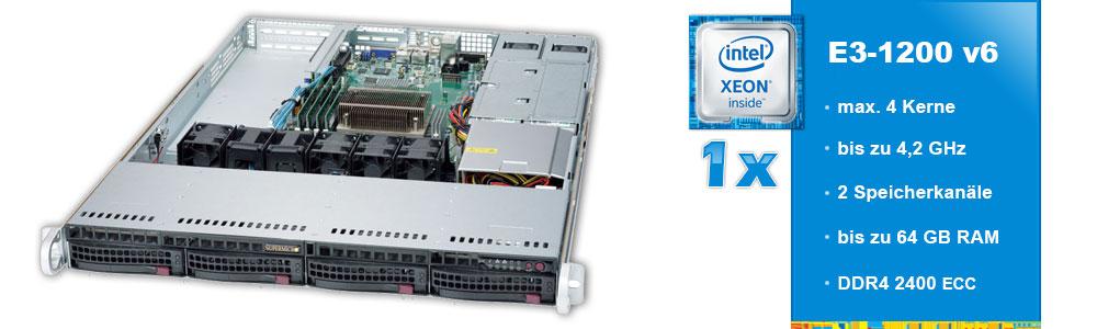 Intel Xeon E3-1200 (1-Sockel)