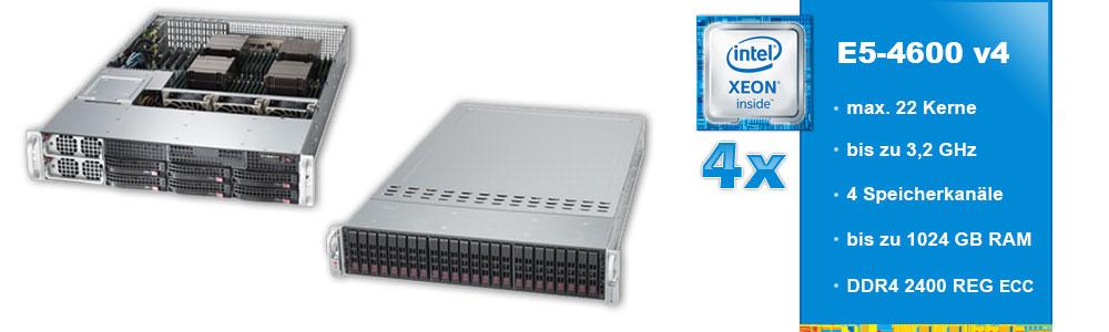 Intel Xeon E5-4600 (4-Sockel)