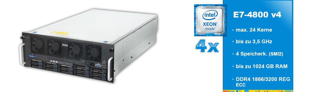 Intel Xeon E7-4800 (4-Sockel)