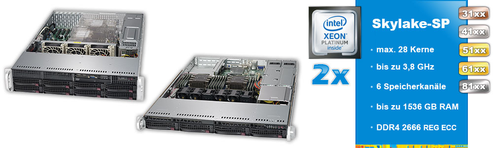 Intel Xeon Scalable (2-Sockel)