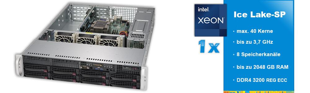 Intel Xeon Scalable (1-Sockel)