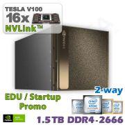 NVIDIA DGX-2 inkl. 1 Jahr Support für Forschung und Lehre