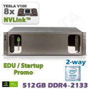NVIDIA DGX-1 V100 inkl. 5 Jahre Support für Forschung und Lehre