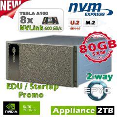 NVIDIA DGX A100 80GB inkl. 5 Jahre Support für Forschung und Lehre