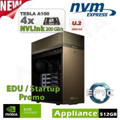 NVIDIA DGX Station A100 160GB inkl. 3 Jahre Support für Forschung und Lehre