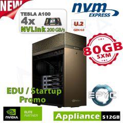 NVIDIA DGX Station A100 320GB inkl. 3 Jahre Support für Forschung und Lehre
