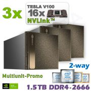 3x NVIDIA DGX-2 inkl. 3 Jahre Support