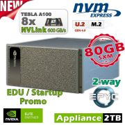 NVIDIA DGX A100 640GB inkl. 5 Jahre Support für Forschung und Lehre