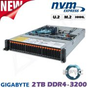 NVMe Flash Storage Server für Deep Learning und HPC