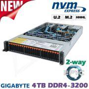 NVMe Flash Storage / Compute Server für Deep Learning und HPC